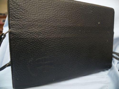 *  OUTFIT CASE * Zeiss Large Leather Outfit Vintage Case c/w Inserts £19.99
